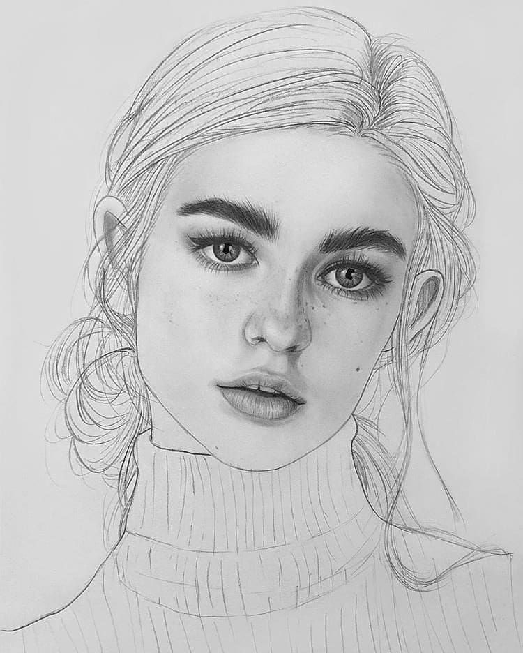 Image May Contain 1 Person Drawing Pencil Drawings Realistic Drawings Sketches