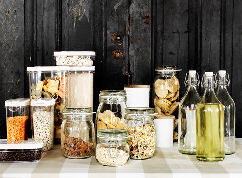 Vorratsschrank küche ikea  Schönes für die Küche: Durchblick im Vorratsschrank | Zero waste