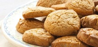Delicious almond cookies without flour