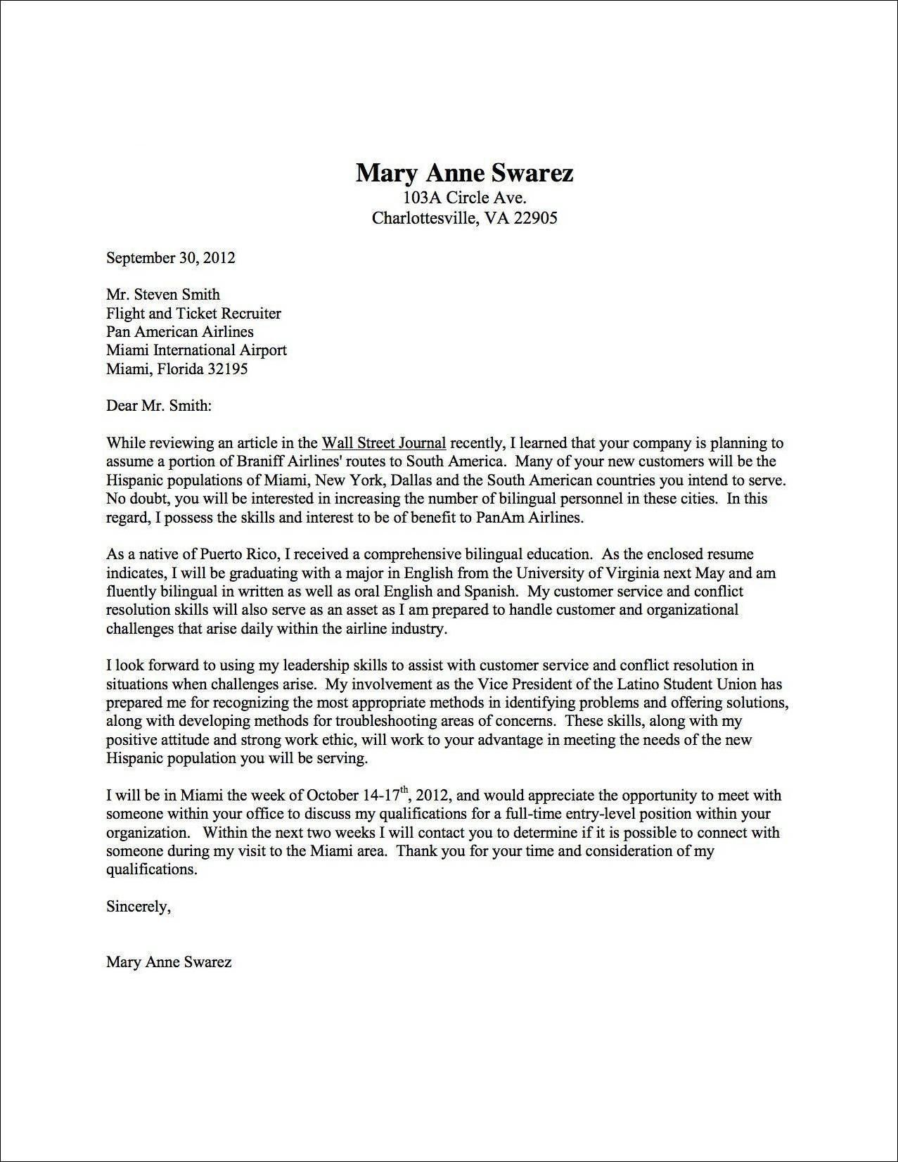 23 Cover Letter Structure Cover Letter For Resume Writing A Cover Letter Cover Letter Example