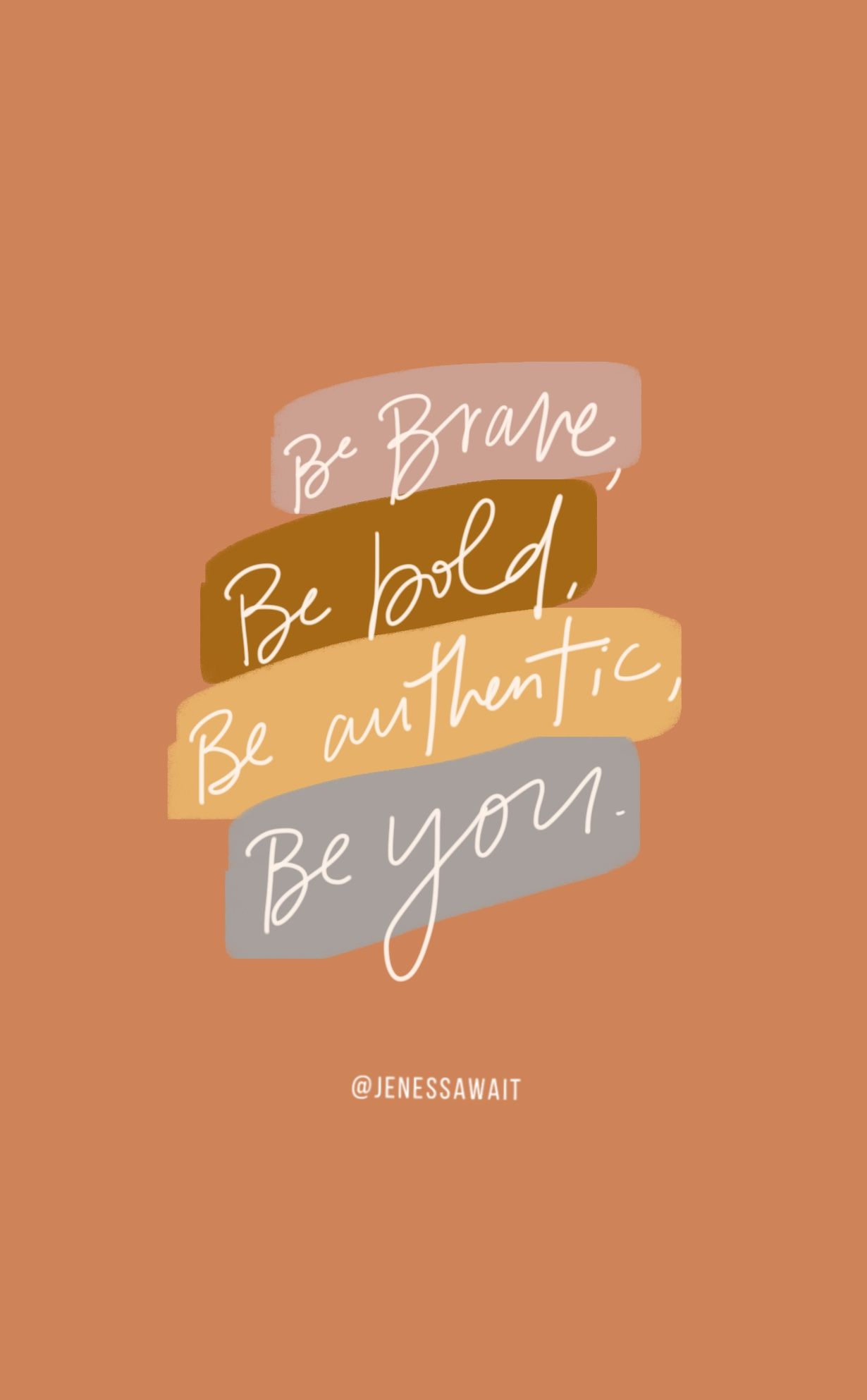 Be Bold Be Brave Inspiring Quotes