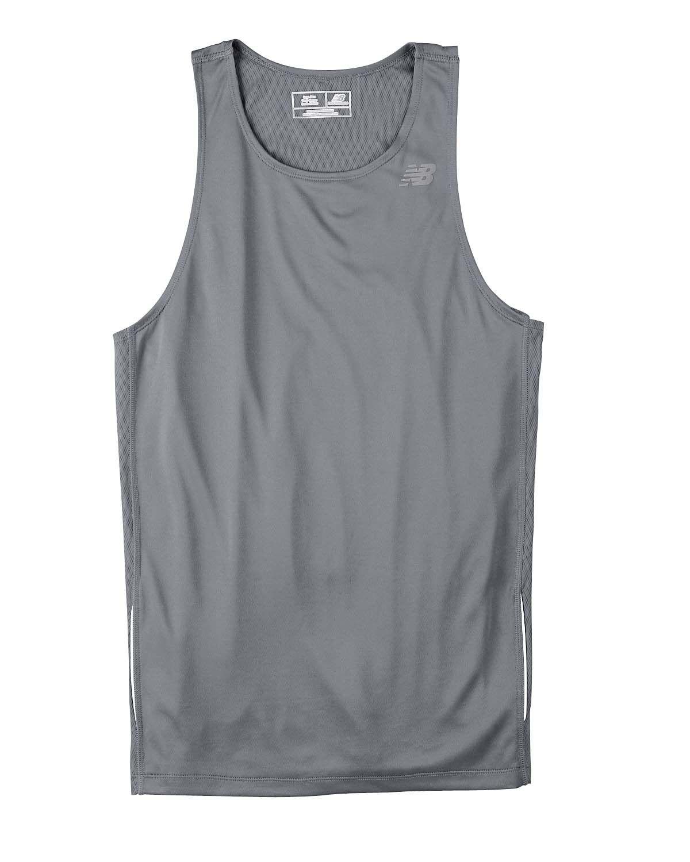 New Balance Mens Tempo Polyester Running Tank Top N9138