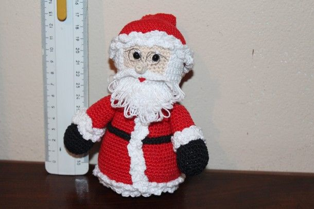 Amigurumi Natale.Babbo Natale Amigurumi Uncinetto Schema Gratis Pupazzo