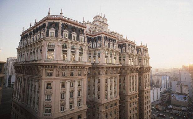 Edifício Martinelli, no centro de São Paulo