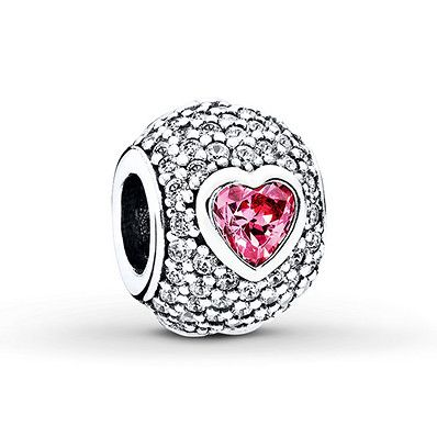 a basso prezzo df8b7 5b286 Pandora Charm Captivating Heart Sterling Silver in 2019 ...