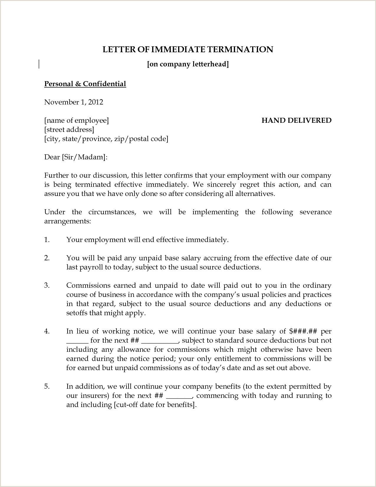 Layoff Letter Example In 2020 Letter Example Reference Letter
