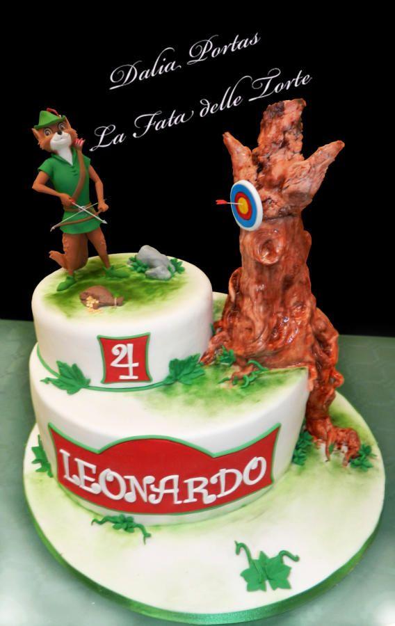Robin Hood Cake Buscar Con Google Birthday Parties Pinterest