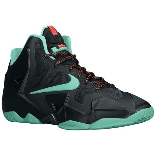 reputable site 5e1cb 32a97 ... nike lebron xi boys grade school basketball shoes black diffused jade  light crimson