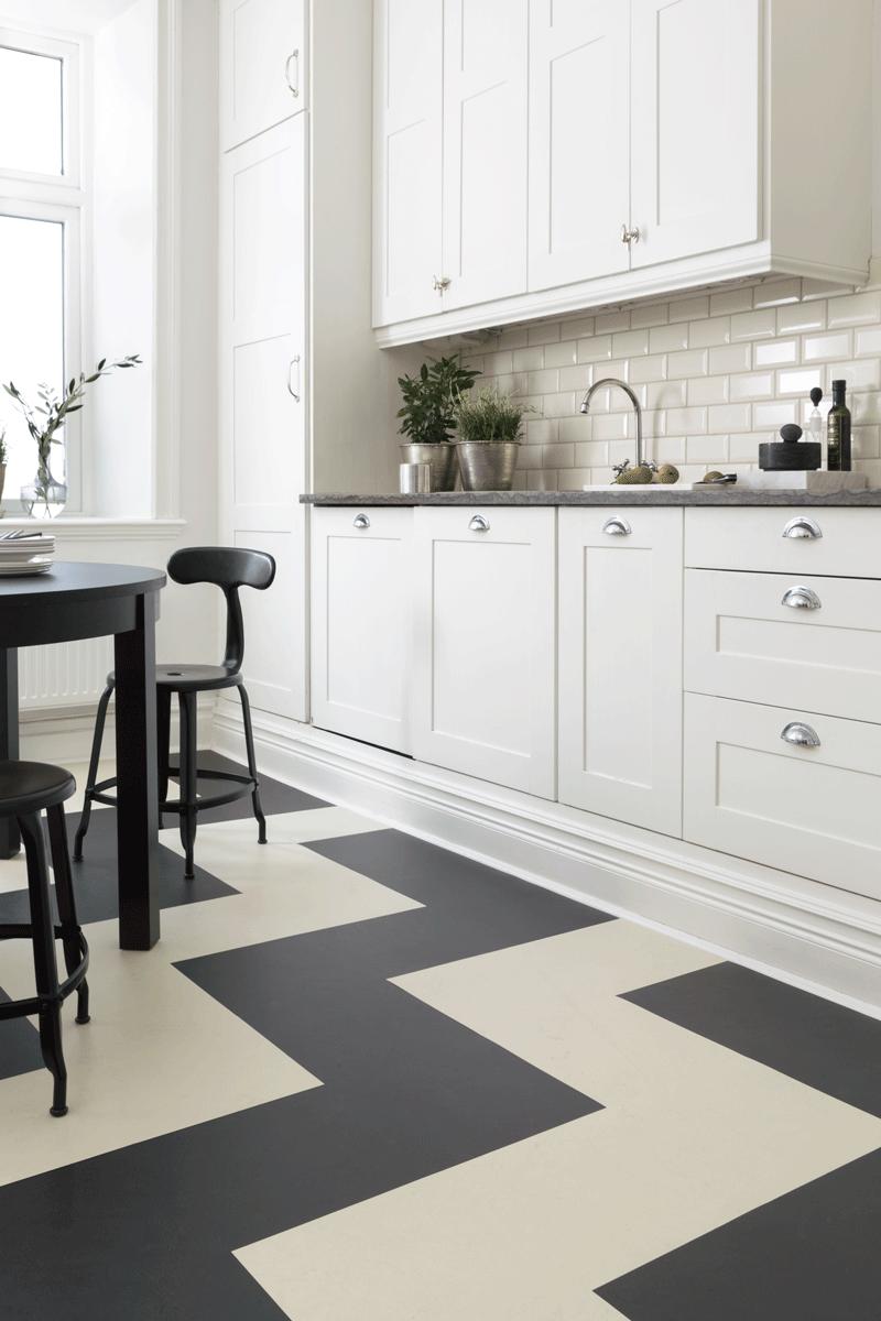 Linoleum linoleum är ett av världens mest miljövänliga golv golven