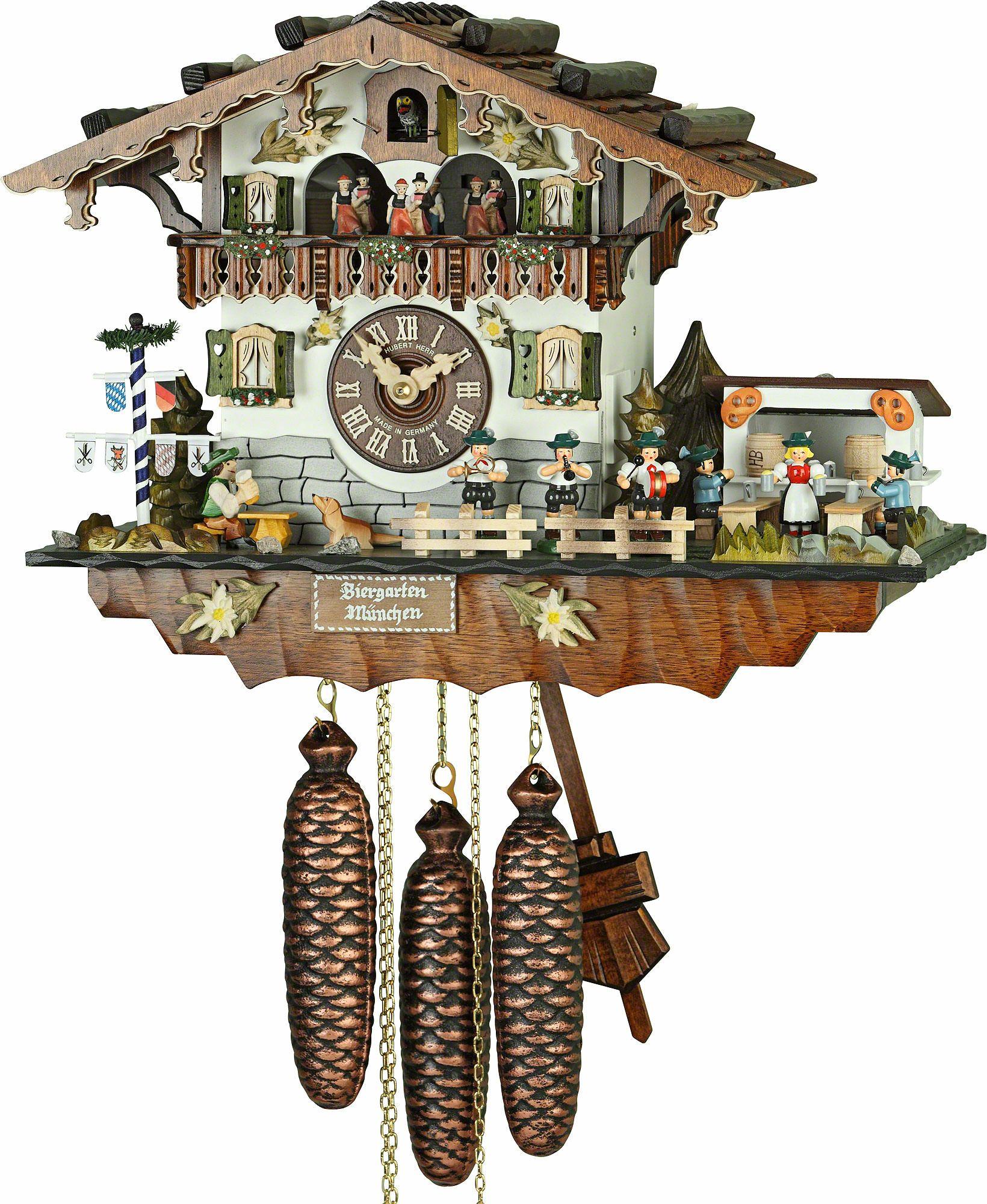 Chalet Cuckoo Clocks Cuckoo Clock 8 Day Movement Chalet Style 32cm By Hubert Herr Cuckoo Clock Clock Cuckoo