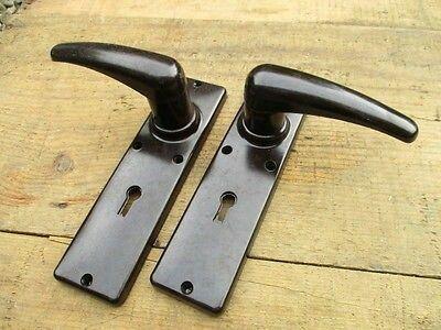 Ebay listing 1930s bakelite door handles   General home loveliness ...