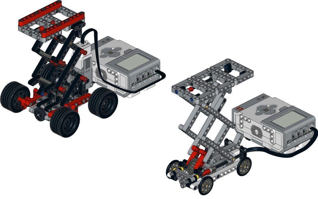 scissor lift CityCAMP Mindstorms EV3 | school | Lego wedo
