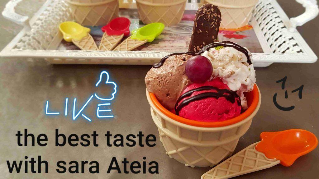 آيس كريم روعه أحلى من أشهر محلات الآيس كريم وتحدي زاكي Ice Cream Cream Food