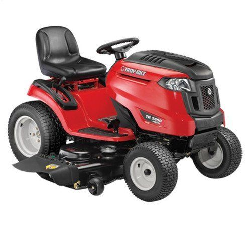 Troybilt 13aaa1kq066 23 Hp Gas 50 In Riding Mower Check Out The Image By Visiting The L Riding Lawn Mowers Electric Riding Lawn Mower Lawn Tractor
