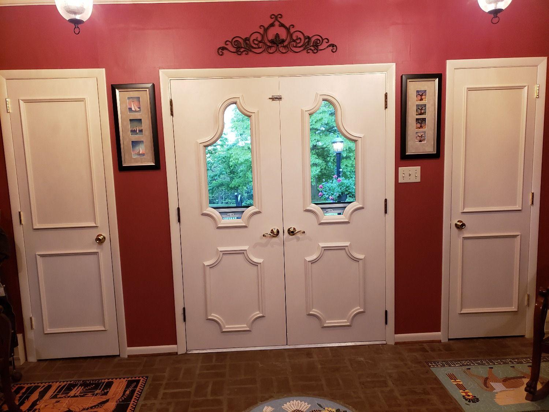 Two Piece Door Moulding Kit Door molding, Doors, Panel doors