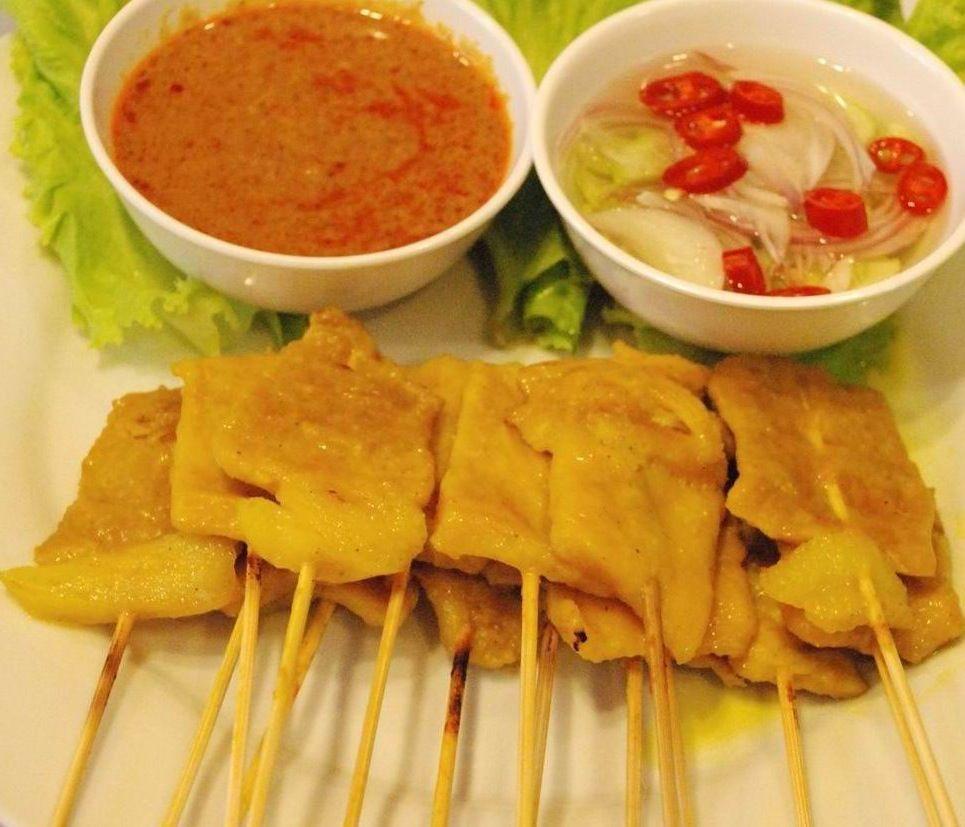 Recipes Easy Thai Food Thai Satay Moo Satay Appetizers