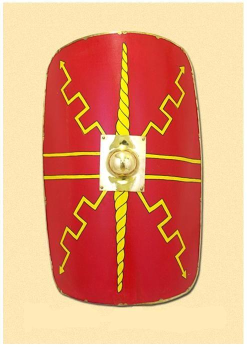 Roman Shield/Scutum, Y-Design | Roman