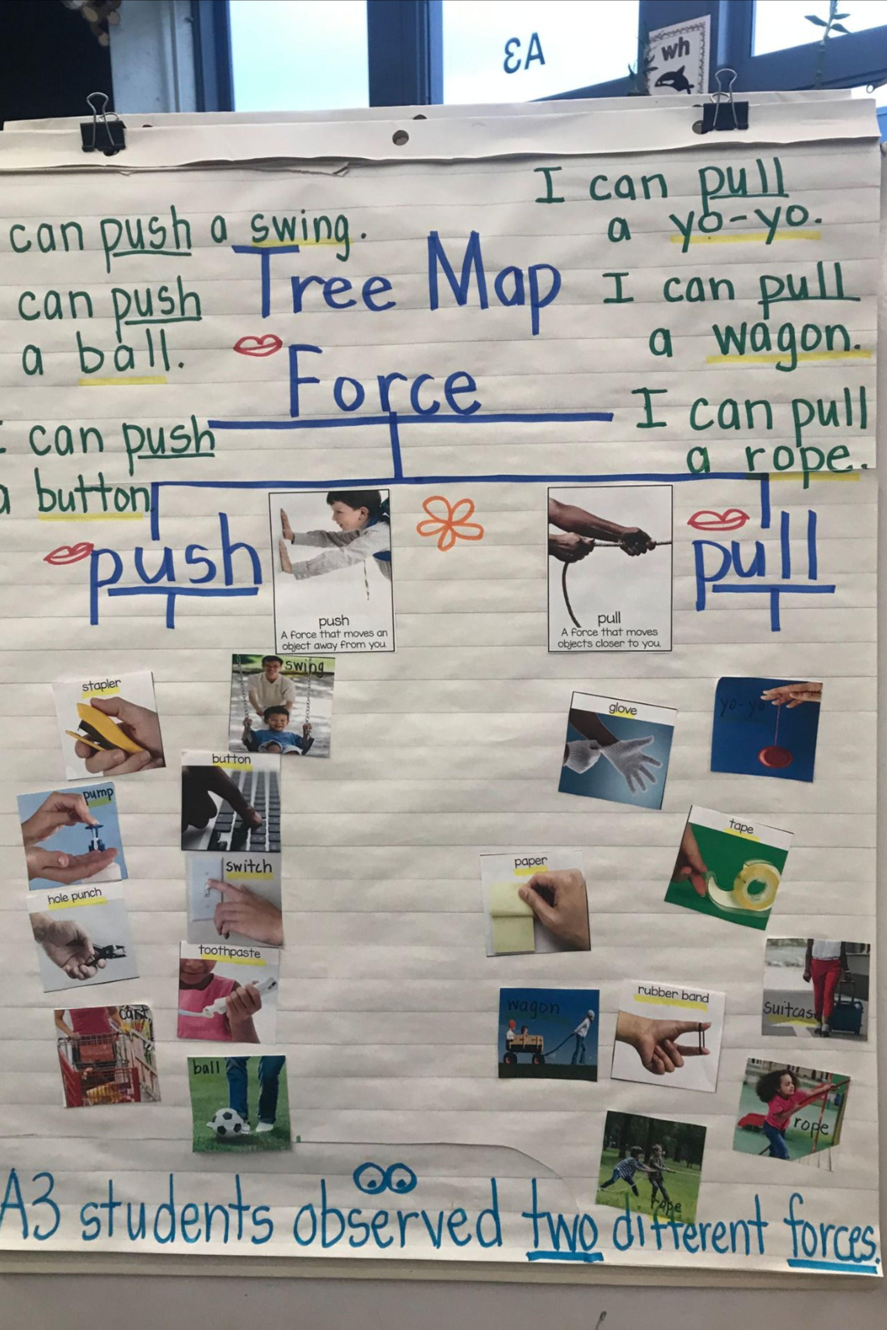 Pushes And Pulls Kindergarten Science Kindergarten Projects Matter Science [ 4396 x 2931 Pixel ]