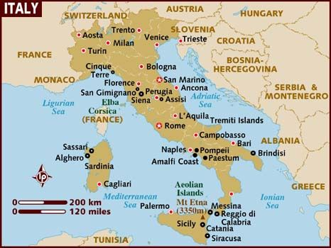 How To Save Money On Your Italian Vacation Italy Map Genoa