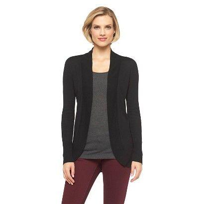 Target - $23 - Women's Cocoon Open Cardigan Merona® - Black ...