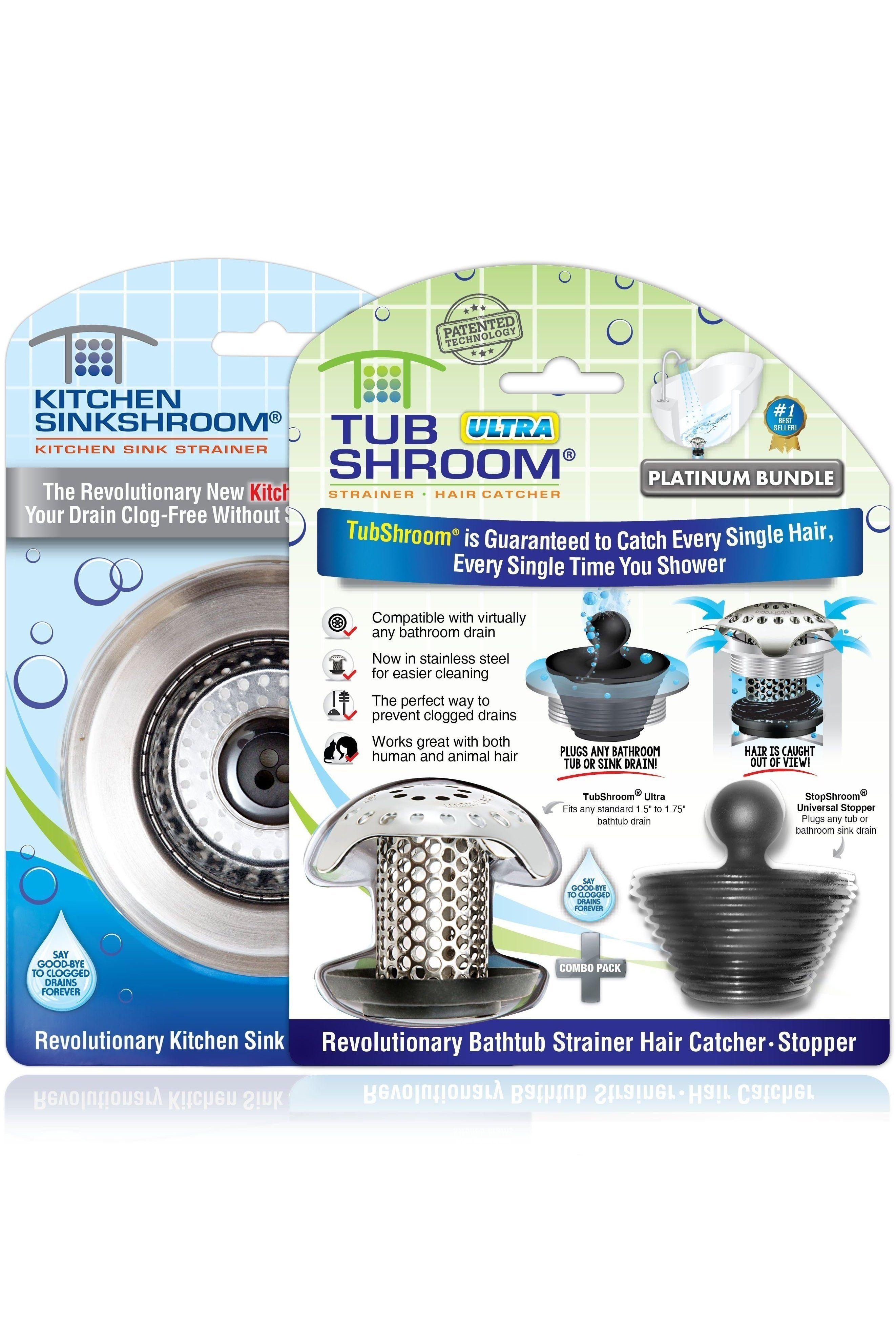 Ultimate Bundle: TubShroom® Ultra & Kitchen SinkShroom