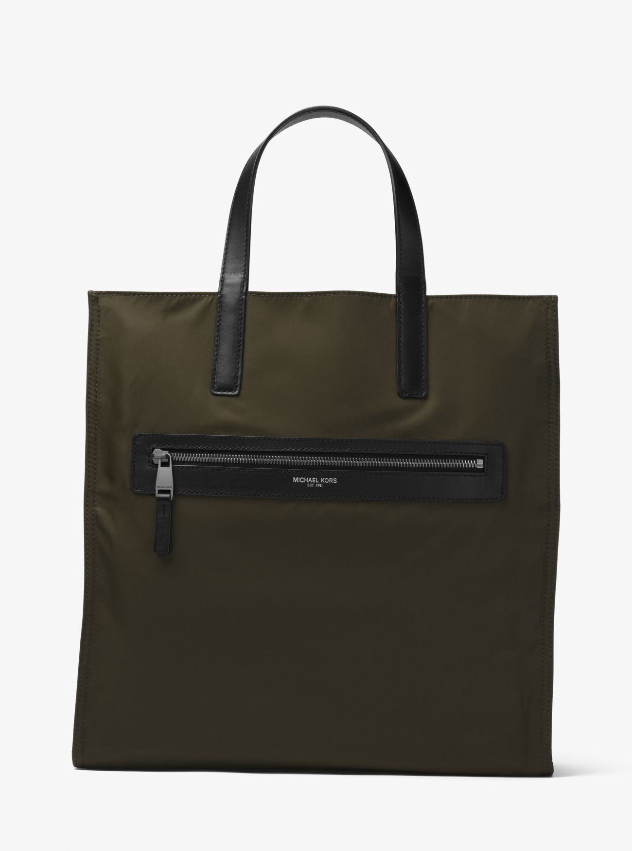 e39e4df4d346 ... discount code for michael kors kent reversible camouflage nylon tote. michaelkors  bags leather hand f04ee