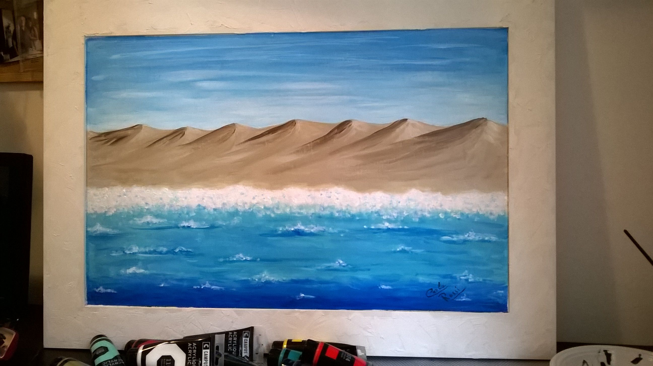 Mio...opera prima...Mare e dune