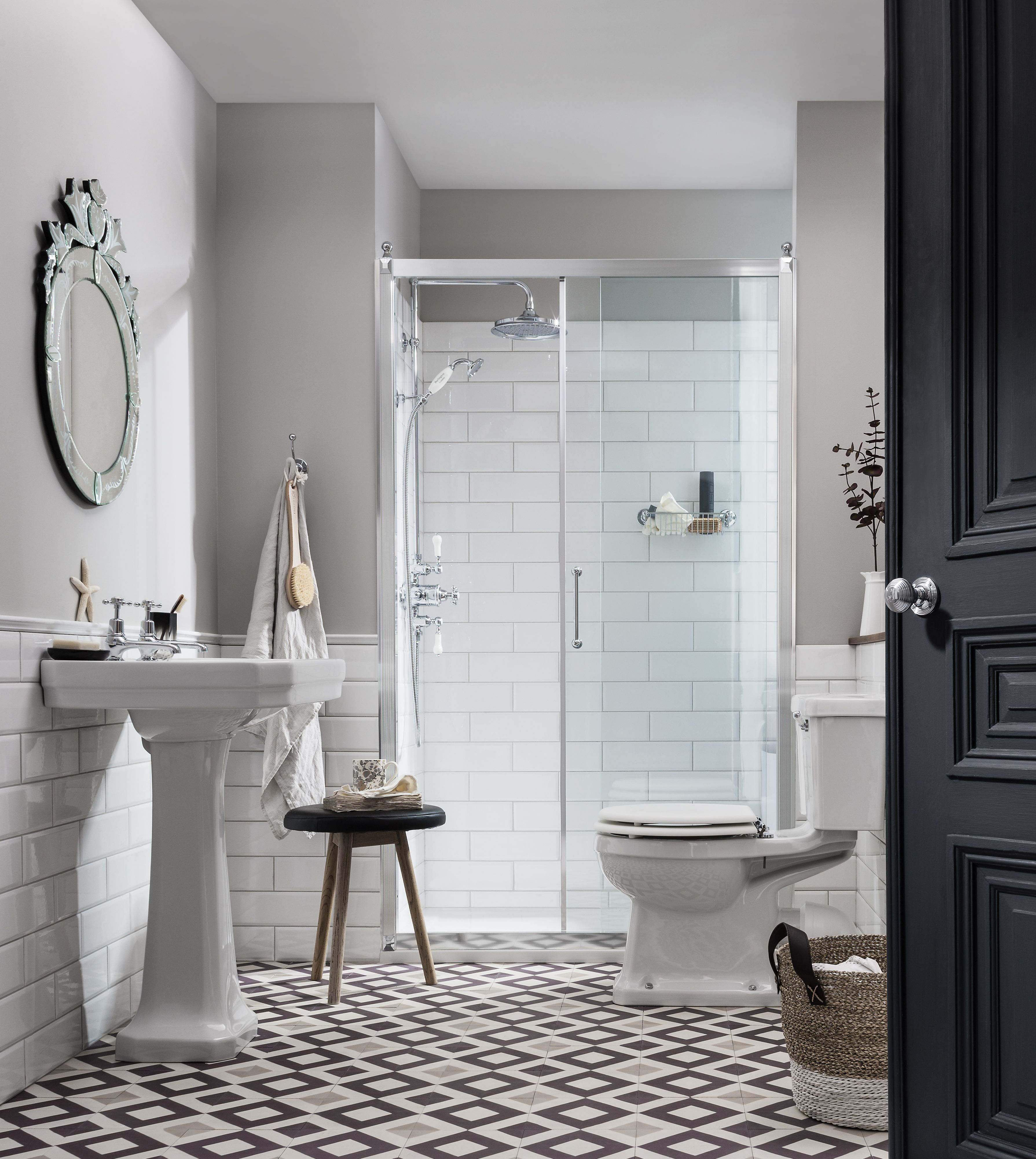 Bathrooms for sale uk - Achieve The Perfect Uptown Bathroom For Less With Burlington Bathrooms Big Bathroom Sale On Now
