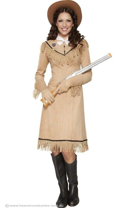 Wild West Women s Annie Oakley Costume - Women s Annie Oakley Cowgirl  Costume Buffalo Bill s having a party and you re invited! 3ca8860aed02