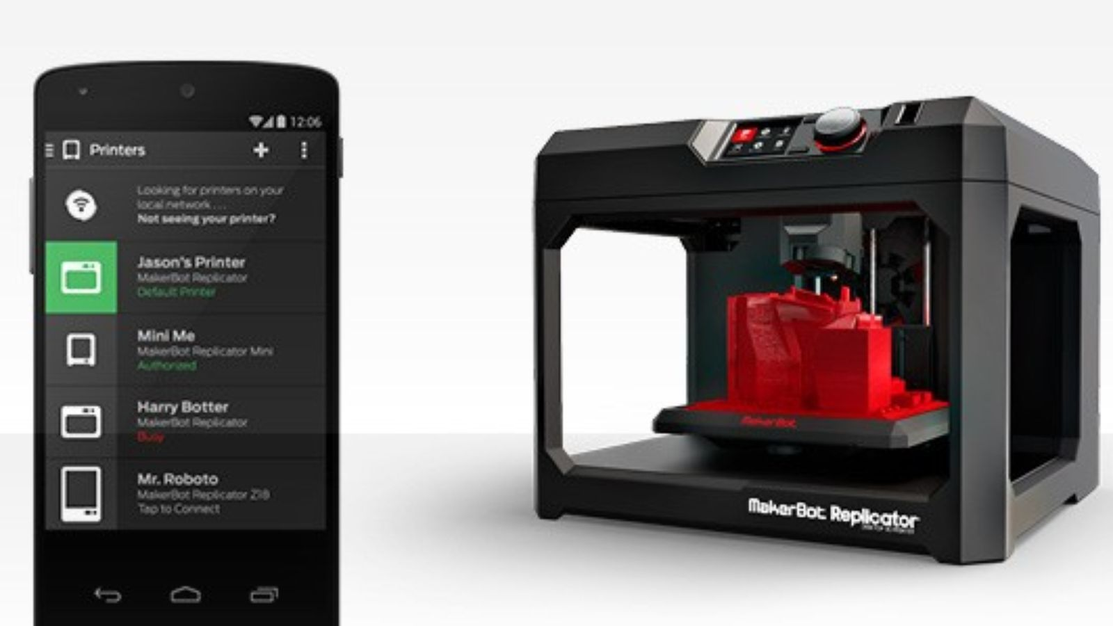You can now 3D print right from your Android phone with a new MakerBot Industries app: http://theverge.com/e/7651186