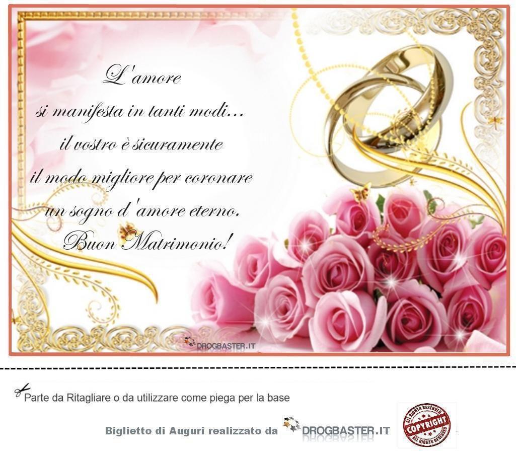 Telegramma Auguri Matrimonio : Biglietto di auguri per anni matrimonio che nozze sono