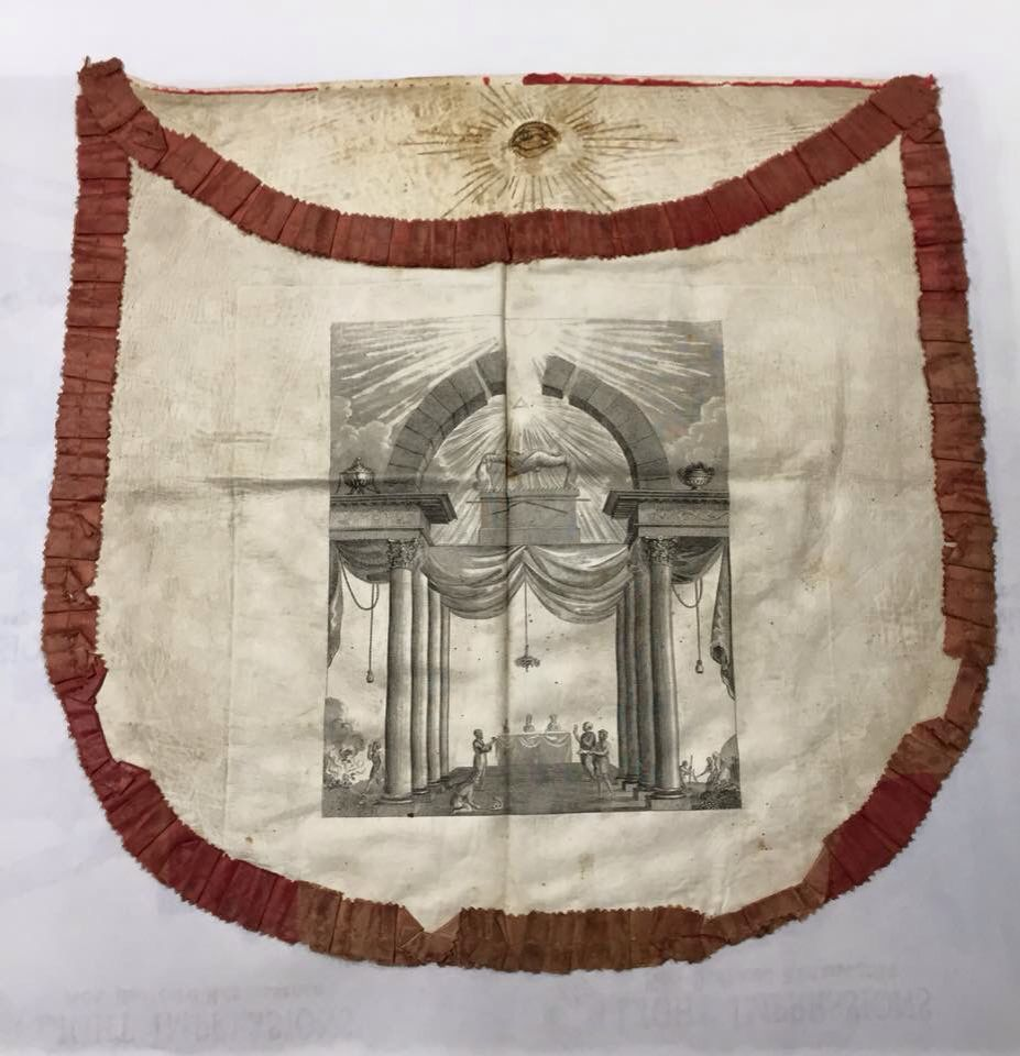 White apron freemason - Masonic Apron