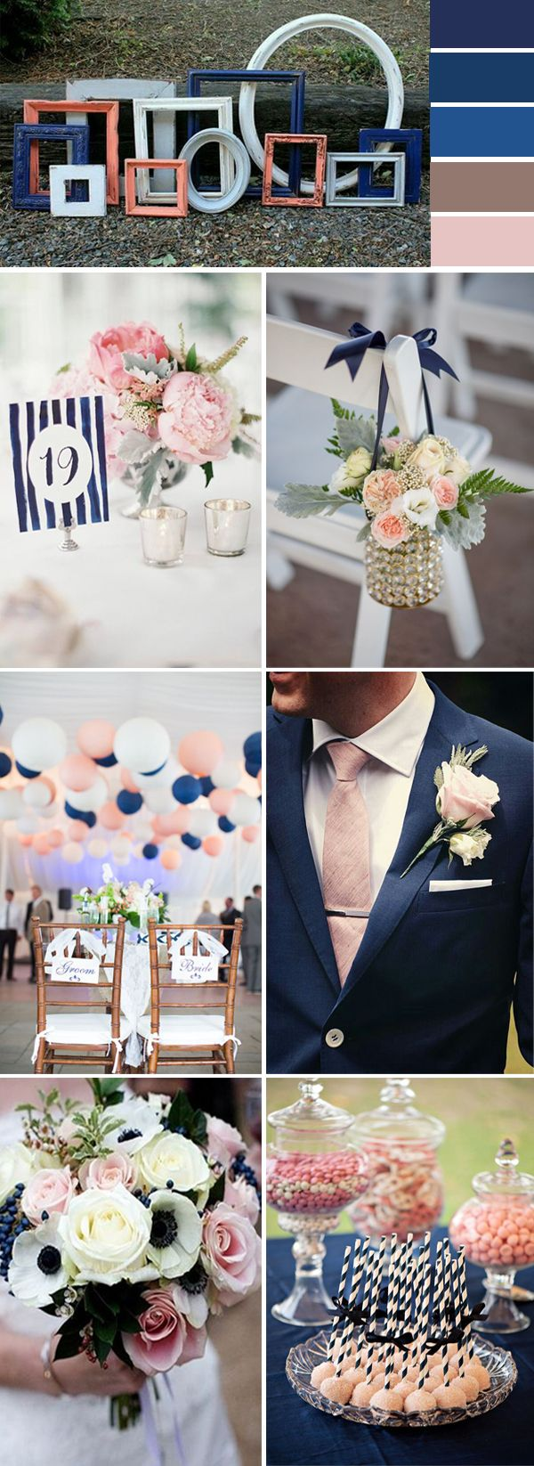 Top 10 Wedding Color Ideas for 2017 Spring | Blue wedding colors ...