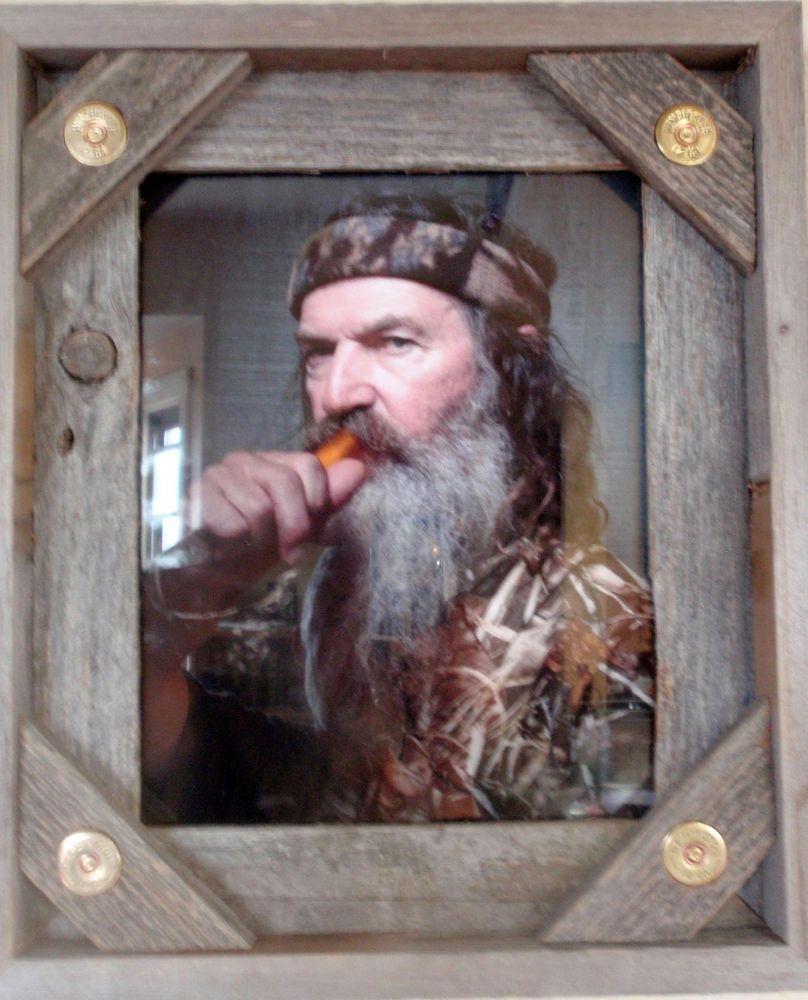 8x10 shotgun hunting rustic barnwood barn wood photo picture frame