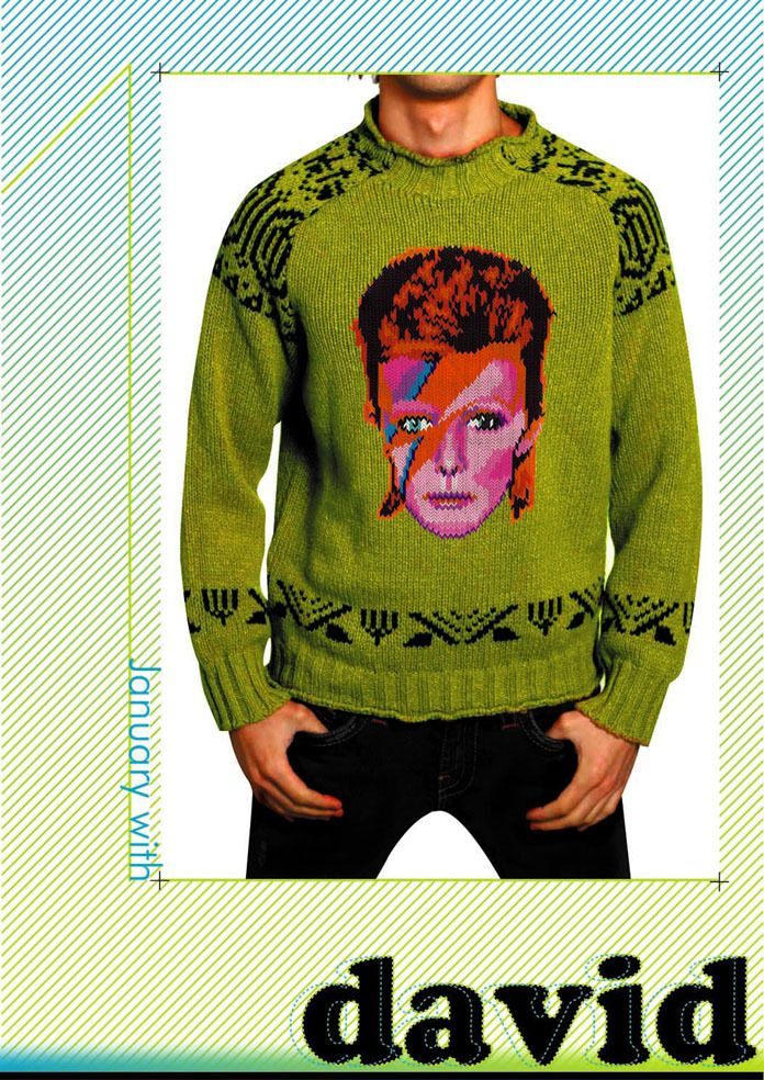 Im Bowie Bitches Bitches Love Bowie Knitspiration Pinterest