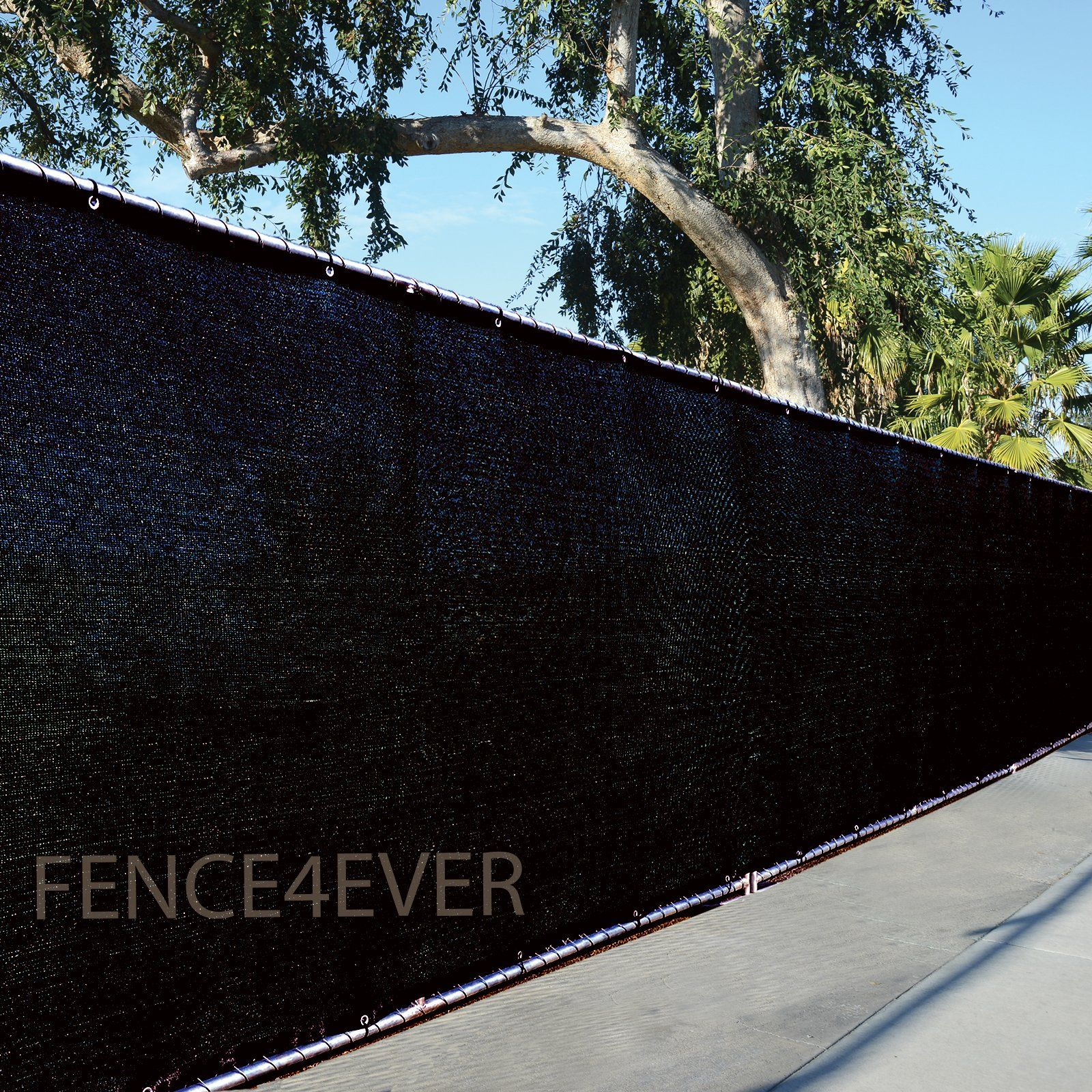 6 X50 3rd Gen Black Fence Privacy Screen Windscreen Shade