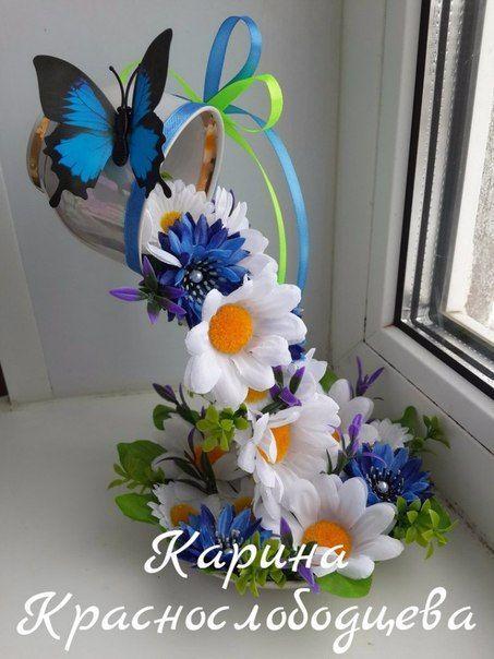 Красивые срезанные цветы