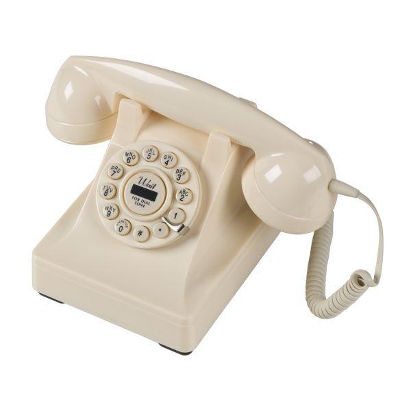 Series 302 Cream Telephone | Wild and Wolf