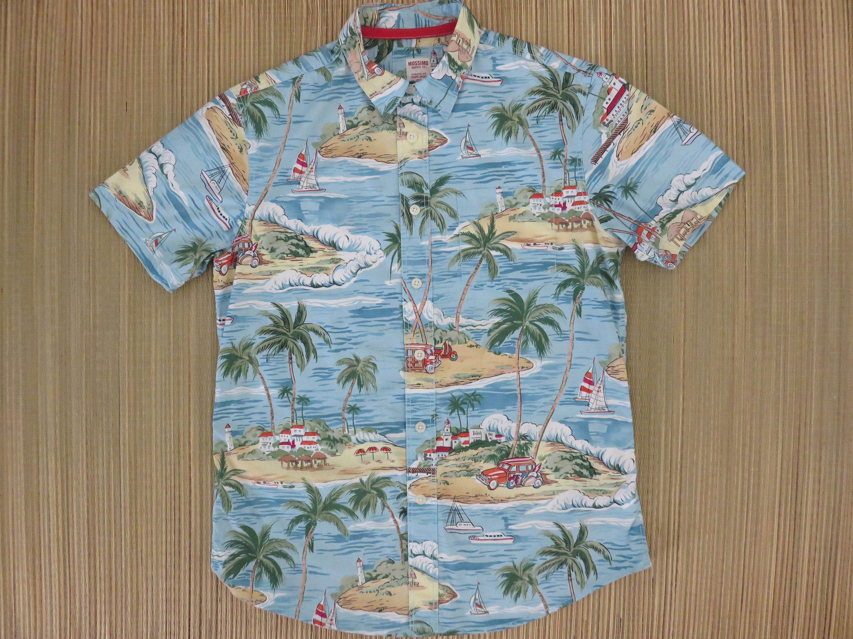 Men/'s Buttons Aloha Shirts Short Sleeve Summer Hawaiian Shirt Shark Printed TK