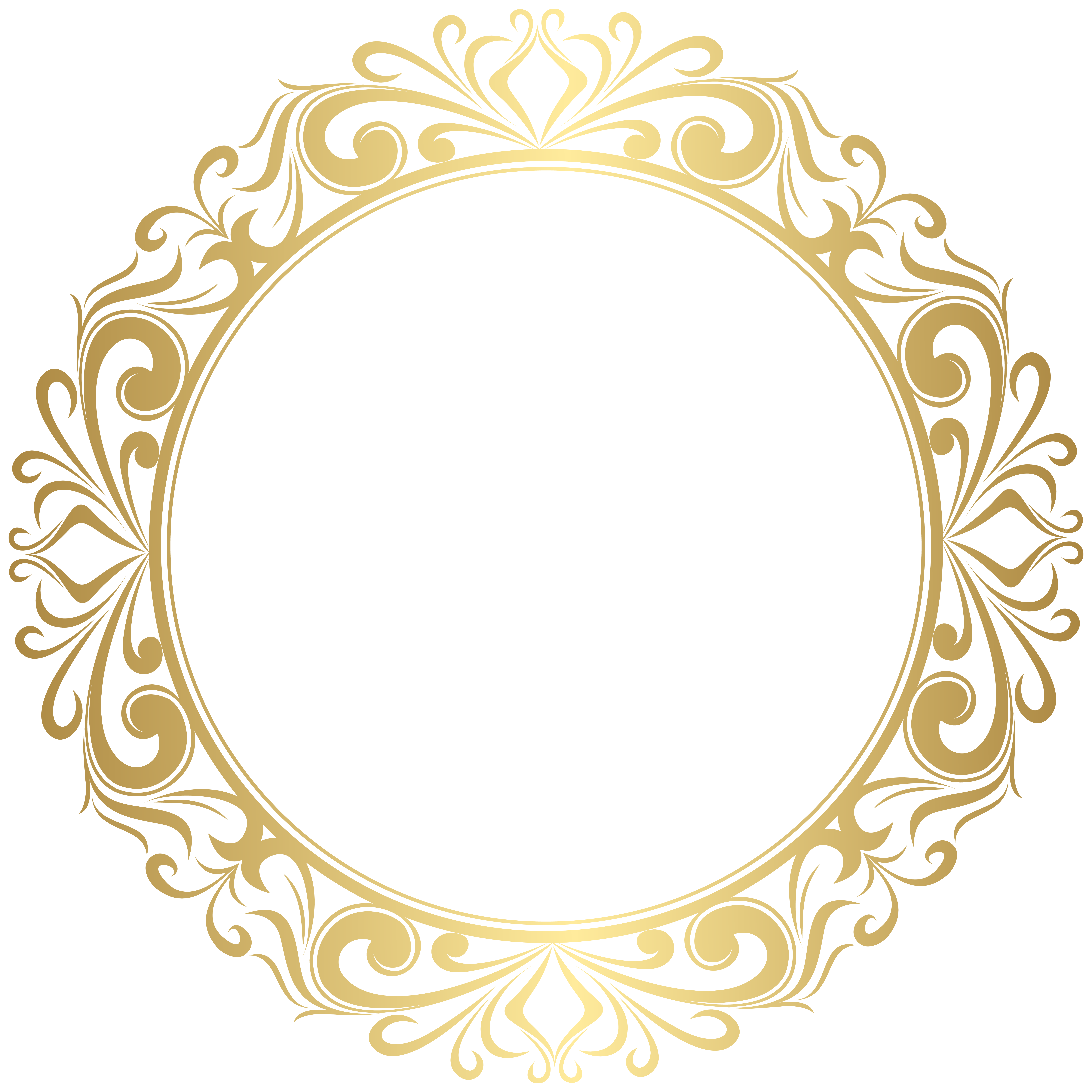 Round Gold Border Frame Png Clipart Gallery Yopriceville High Quality Images And Transparent Png Free Clipart Free Clip Art Clip Art Gold Border