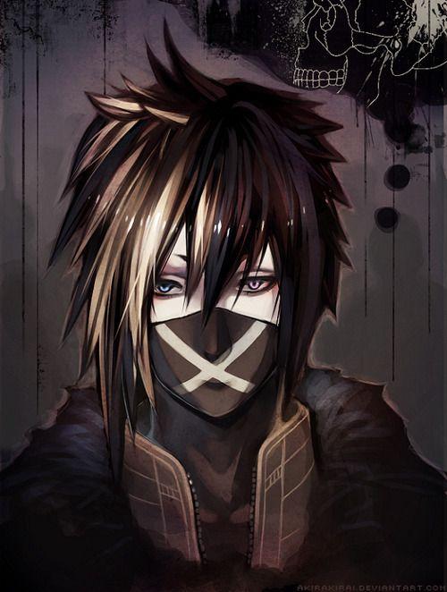 Anime Mask And Emo Image Anime Demon Dark Anime Cosplay Anime