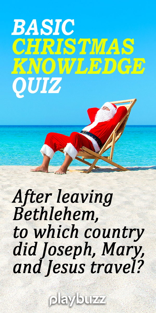 Can You Ace A Basic Christmas Knowledge Quiz? Knowledge