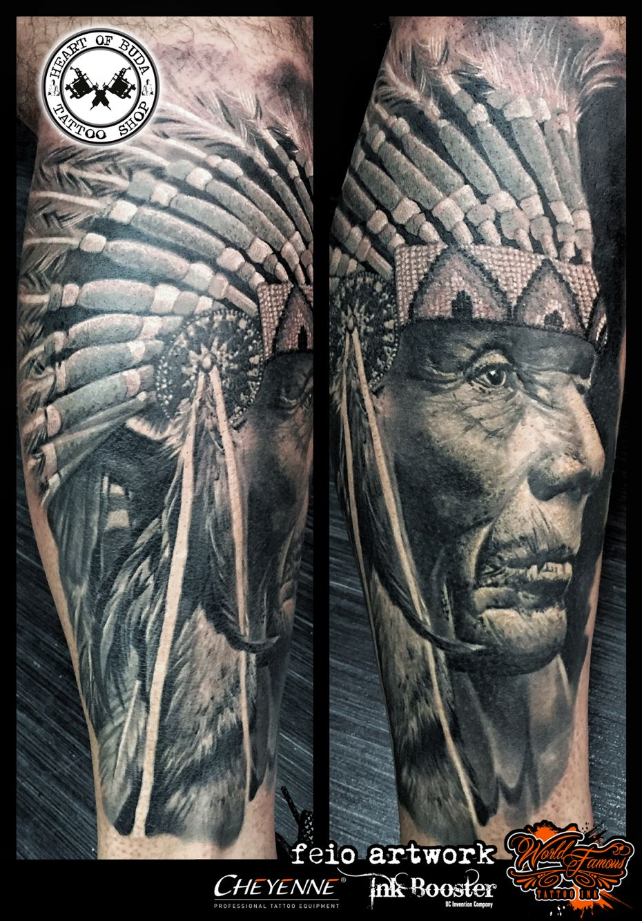 Native American Indian Chief Tattoo Indian Chief Tattoo Indian Tattoo Tribal Hand Tattoos
