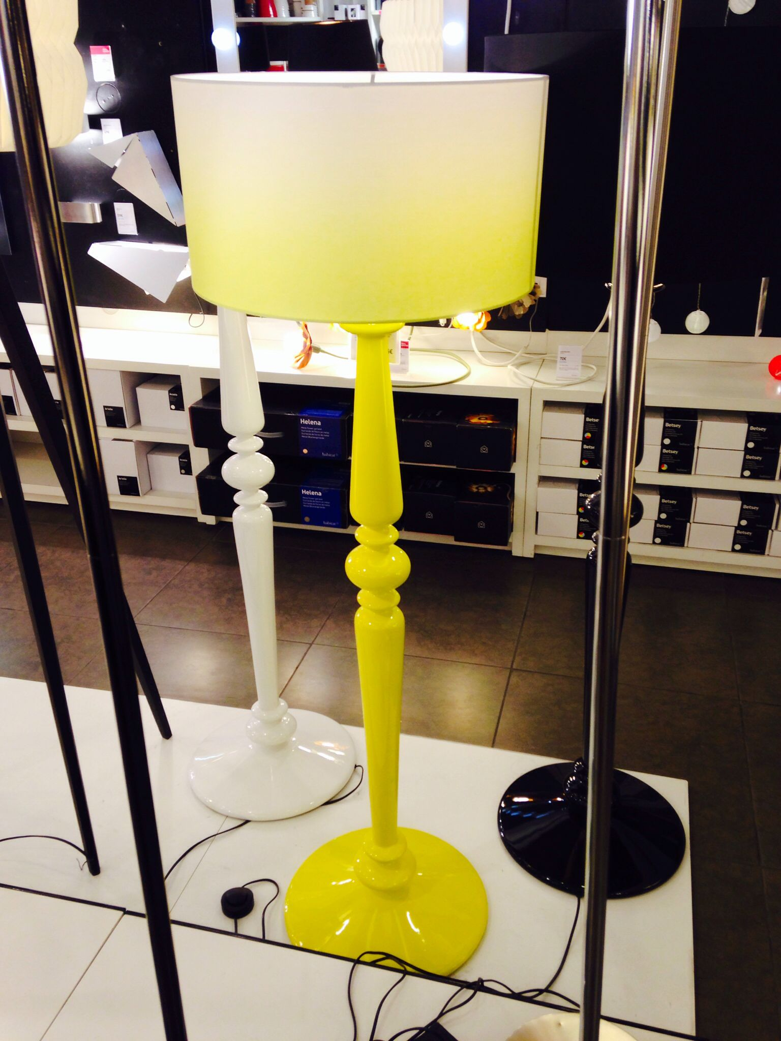 Spindle Lamp Base Degraday Lamp Shade From Habitat Love This