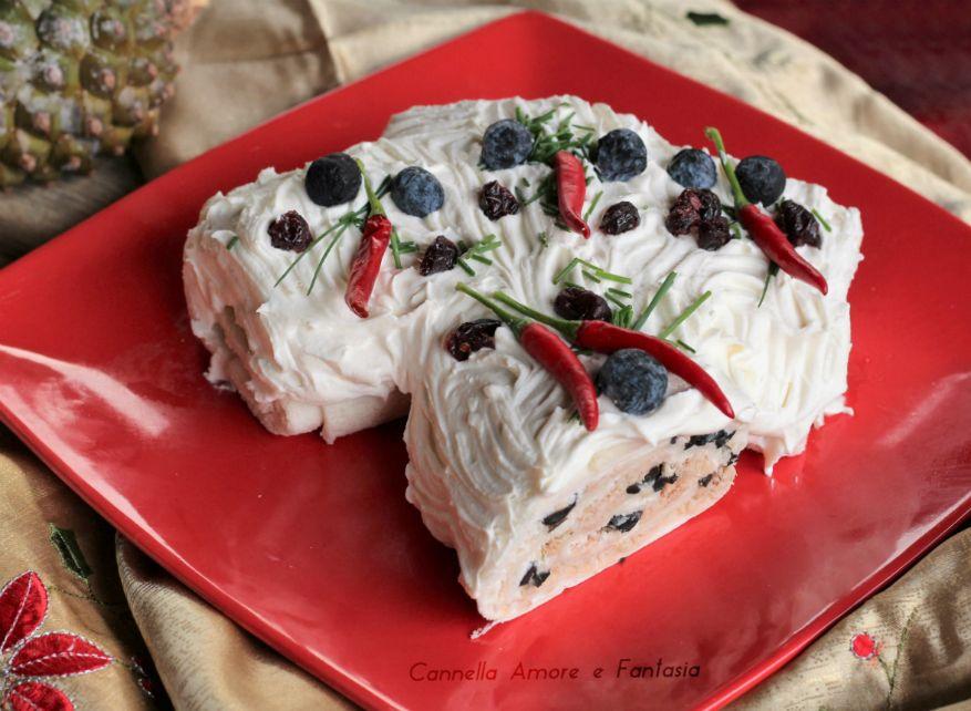 Tronchetto Di Natale Sale E Pepe.Tronchetto Di Natale Salato Al Tonno Natale Dolce E Salato