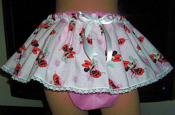 ec5ec6806 Adult Sissy Baby ABDL Twirling Skirt Panties by SissyBabyBoutique ...
