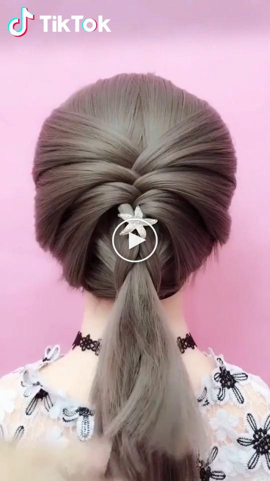 Tiktok Grappige Korte Video Platform Kapselideeen Makkelijkkapsel Diy Hairstyles Braided Hairstyles Easy Hair Styles