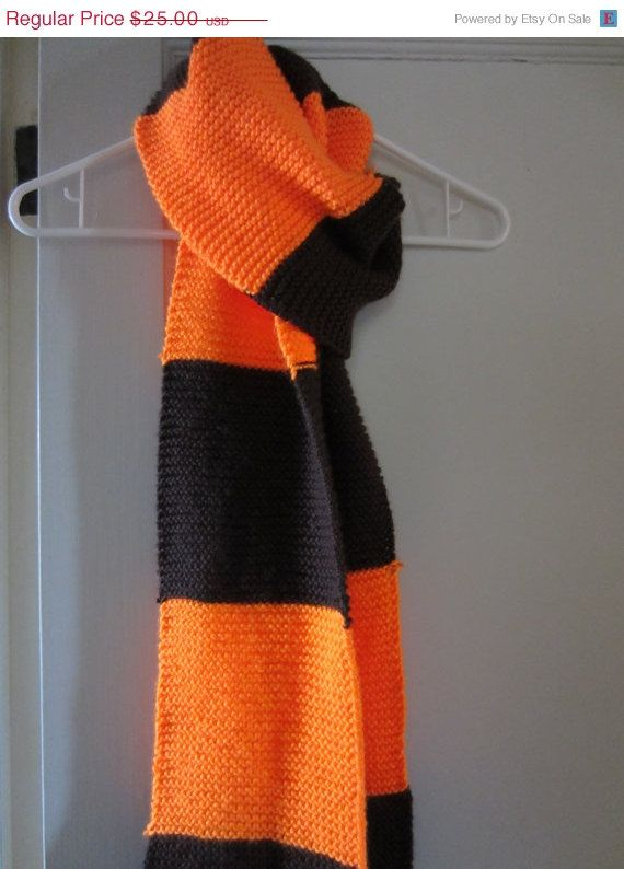 ON SALE Cleveland Browns Scarf by MadisonScarves on Etsy, $22.50