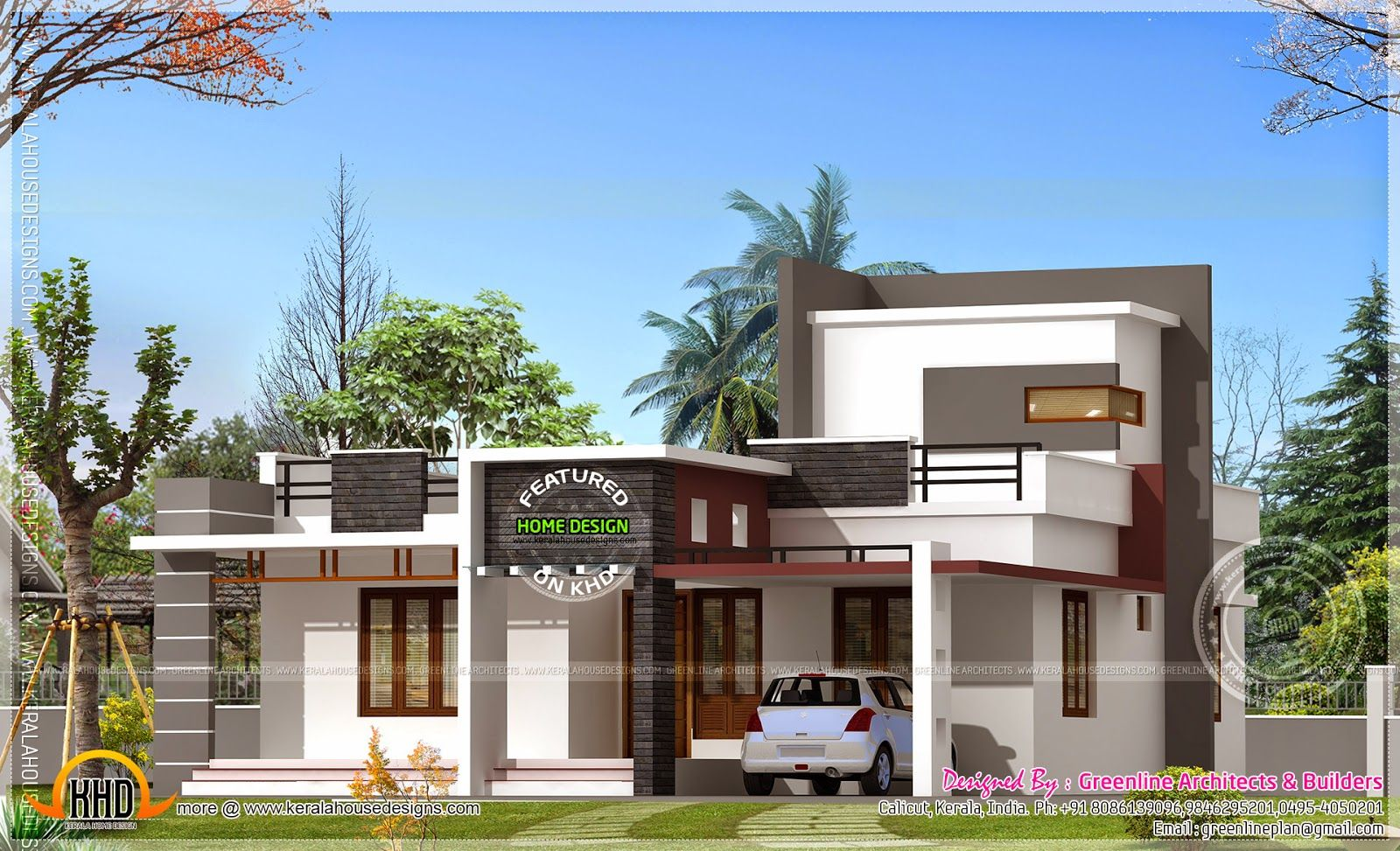 bedroom house feet home kerala plans see
