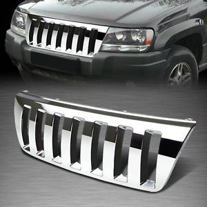 For 99 04 Jeep Grand Cherokee Wj Abs Plastic Chrome Front Bumper